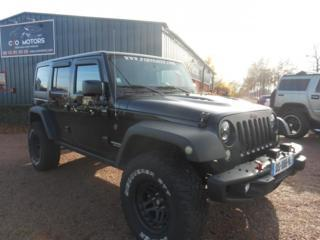 JEEP WRANGLER UNLIMITED RUBICON 2.8 CRD BOITE AUTO